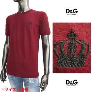 ドルチェ&ガッバーナ(DOLCE&GABBANA) メンズ クルーネック 半袖Tシャツ G8FV4T G7HCH R0369  61A