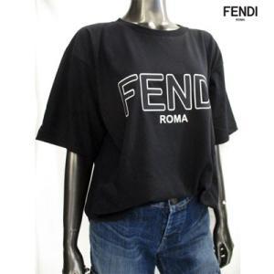 フェンディ(FENDI) メンズ FENDIロゴ・サイドスリット入りカットソー ユニセックス着用可 白/黒 FAF077 A8XA F0ZNM/F0GME 91A guts 04