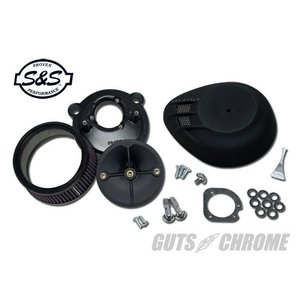 S&S ステルスエアクリーナーKIT ブラック XL|gutschrome