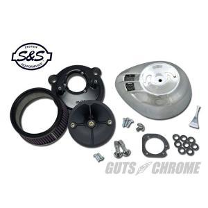 S&S ステルスエアクリーナーKIT クローム XL|gutschrome