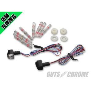 キジマ Nano コンビLEDテール&ウインカー アンバー/レッド 12V1.1W 2コイリ|gutschrome