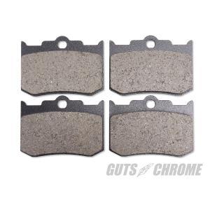 10%OFF パフォーマンスマシン ハーレー用 PM125X4R ブレーキパッド gutschrome