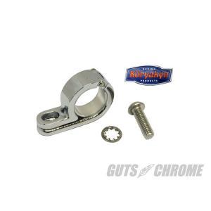 クリアキン P型クランプ 7/8〜1用 クローム|gutschrome