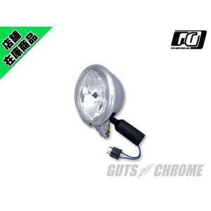 5.75インチ ベーツヘッドライト クローム(クリアレンズ)|gutschrome