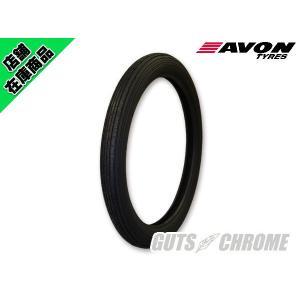 ハーレー用 タイヤ AVON SPMK2 3.25-19 フロント|gutschrome