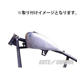 スポーツスター用ピーナツタンク|gutschrome