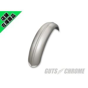 6インチ センターリブフェンダー アルミ シルバーアルマイト|gutschrome