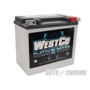 9800-4010 ハーレー WESTCOバッテリー 91-96ダイナ/ソフテイル OEM 65989-90B|gutschrome