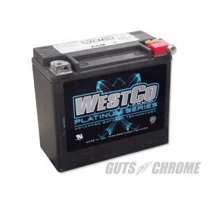 ハーレー WESTCOバッテリー 97年以降XL/ダイナ/ソフテイル OEM 65989-97C|gutschrome