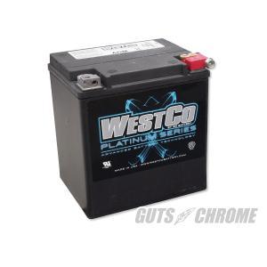 9800-4040 ハーレー WESTCOバッテリー 97年以降ツアラー OEM 66010-97C|gutschrome