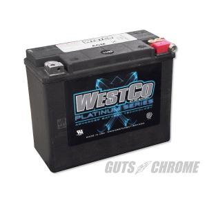 9800-4050 ハーレー WESTCO バッテリー 80-96年ツアラー用 OEM 66010-82B|gutschrome