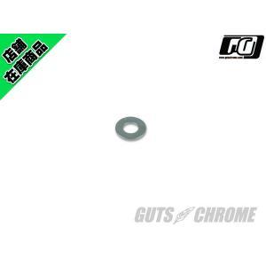 フラットワッシャー グレード5 スチール 1/2|gutschrome