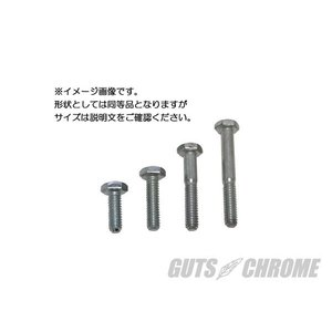 HEXボルト 3/8-16 x2 ジンク|gutschrome