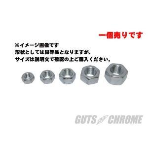 HEXナット 5/8-18(細目) ジンク|gutschrome