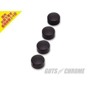 【国内取寄せ】☆ ビレットヘッドボルトカバー アルミ/ブラック gutschrome