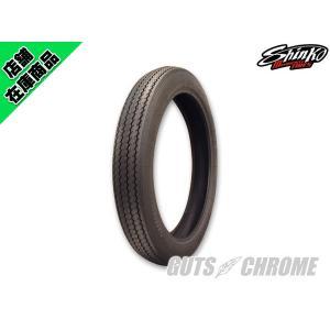 シンコー E240 H.D.Sクラシックタイヤ 100/90-19 ブラック|gutschrome