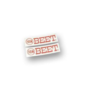 バックステップ用BEETステッカー 2枚セット|gutsjapan