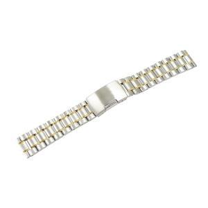 腕時計 ベルト 19mm ステンレス シルバー ゴールド サ...