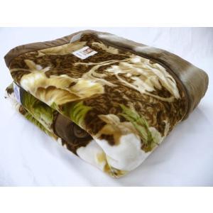 超最高級 ムートン調 アクリル100% 毛布 ダブル 西川 日本製 静電気抑制 ローズカーボ 国産 肉厚 襟付き 二枚合わせ 二重 衿付き もうふ|gutusurikaimin