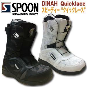 スノーボード ブーツ SPOON-19DINAH クイックレース 2019 モデル|gyazoonet