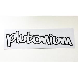 Plutonium New ロゴステッカー|gyazoonet