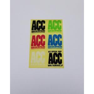 ACCミニ6色ステッカー|gyazoonet