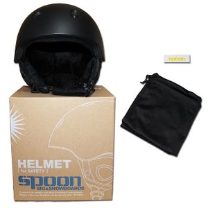 スノーヘルメット フリーサイズ ダイヤル調整 SPOON-HELMET/スキー スノボー サイクリング スケボー gyazoonet