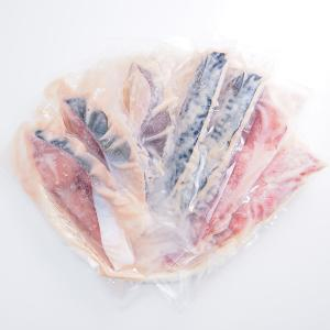 【内容】 ブリ(120g)2枚、赤魚(160g)1枚、金目鯛(100g)1枚、サバ(125g)2枚、...