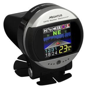 セルオート CellAuto SR-330SE 1.5インチ有機EL ラウンドフェイス アンテナ一体型 GPSレーダー探知機 丸型|gyouhan-shop