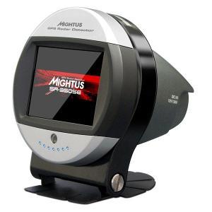セルオート CellAuto SR-350SE ラウンドフェイスデザイン GPSレーダー探知機 QVGA対応2.4インチIPS液晶 アンテナ一体型|gyouhan-shop