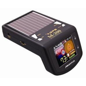 セルオート CellAuto M-200 フルカラーLCD搭載GPSソーラーレーダー探知機|gyouhan-shop