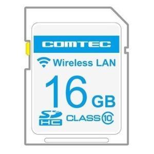 コムテック WSD16G-809LV 無線LAN内蔵SDHCカード GPSデータや公開取締情報、取締共有システムなど無線LANで自動変更 ZERO809LV用 WSD16G-809LV gyouhan-shop