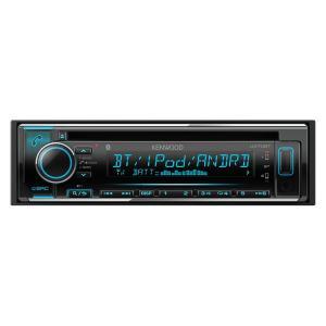 ケンウッド U370BT CD/USB/iPod/Bluetooth レシーバー MP3/WMA/AAC/WAV/FLAC対応 1DINプレイヤー 24bitDAC搭載|gyouhan-shop
