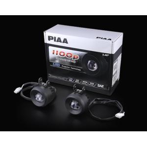 PIAA DK119X LEDランプ 1100P クリア・6000K フォグ 12V/8W 耐震10Gクリア/IPX7クリア※代引不可|gyouhan-shop