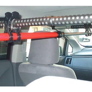 クレトム KA-70 車内インテリアバー用パーツ ワンタッチホルダー 車内のスペースを有効活用!釣竿サーフボードなど車内積みに最適【FJ】|gyouhan-shop