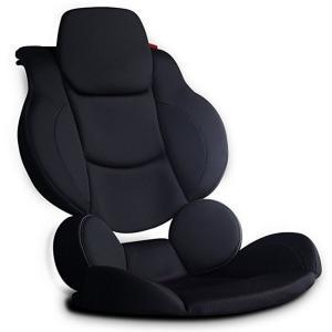 【お取り寄せ】PROFACT プロファクト A-PF-008 シートクッションフルセット プレミアム 腰痛対策 長距離運転対策 カークッション ブラック|gyouhan-shop