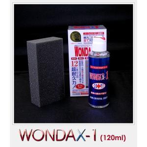 【在庫有】ワンダックス WONDAX-1/120ml ガラス質ボディ保護剤 これ一本でガラスコート!【新車やそれに近い車用】※普通車/軽1BOX1台分1(ワンダックスワン)|gyouhan-shop