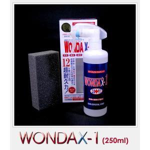 【在庫有】ワンダックス WONDAX-1/250ml ガラス質ボディ保護剤 これ一本でガラスコート!【新車やそれに近い車用】※大型車/1BOX1.5台分(ワンダックスワン)|gyouhan-shop