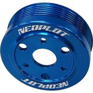 NEOPLOT NP11510L ウォーターポンププーリーNEO ブルー スバルFA/FB-DITエンジン車 BMG/BRG,SJG,VM#,VAG gyouhan-shop