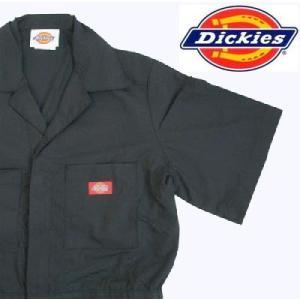 ディッキーズ Dickies ディッキーズ カバーオール つなぎ ツナギ 3399BK-2XL ブラック gyouhan-shop