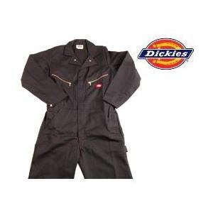 ディッキーズ Dickies ディッキーズ カバーオール つなぎ ツナギ 4879BK-L ブラック|gyouhan-shop