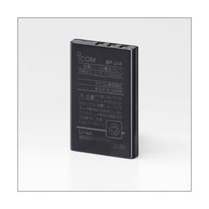 アイコム ICOM 【IC−4077用オプション】Li−ionバッテリーパック(3.7V 1100MAH) BP-244 無線 トランシーバー アウトドア |gyouhan-shop