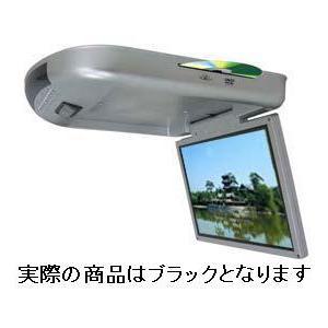 【アウトレット特価!】スロットインDVDプレイヤー内蔵 15インチフリップダウンモニター SD/MMCスロット搭載 1508D|gyouhan-shop