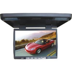 【アウトレット特価!】15.4インチフリップダウンモニター TFT LCD液晶 映像入力2系統 EV-1548|gyouhan-shop