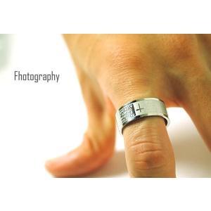 ペアリング 指輪 シンプル リング メンズ ステンレス レディース クロス メッセージ シルバー 刻印 ≪ゆうメール便配送20・代引不可≫|gypsy|04