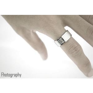 ペアリング 指輪 シンプル リング メンズ ステンレス レディース クロス メッセージ シルバー 刻印 ≪ゆうメール便配送20・代引不可≫|gypsy|05