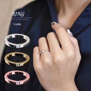 ピンキーリング 指輪 ペアリング レディース メンズ 1粒 重ね付け シンプル シルバー ピンクゴールド ゴールド セール 7号 9号 11号 13号 15号 17号|gypsy