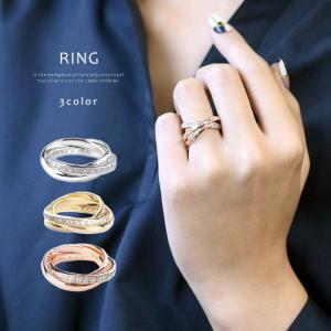 ペアリング 指輪 リング レディース シルバーリング 流星 輝き 豪華 3連 デザイン メンズ ジルコニア シルバー シンプル モチーフ ゴールド|gypsy