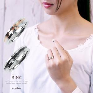 ペアリング 指輪 レディース クロス サージカルステンレスリング ライン 赤い糸 シンプル ≪ゆうメール便配送10・代引不可≫|gypsy