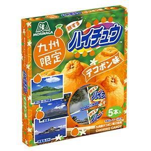 九州限定 旅するハイチュウ デコポン 【九州産デコポン果汁1...
